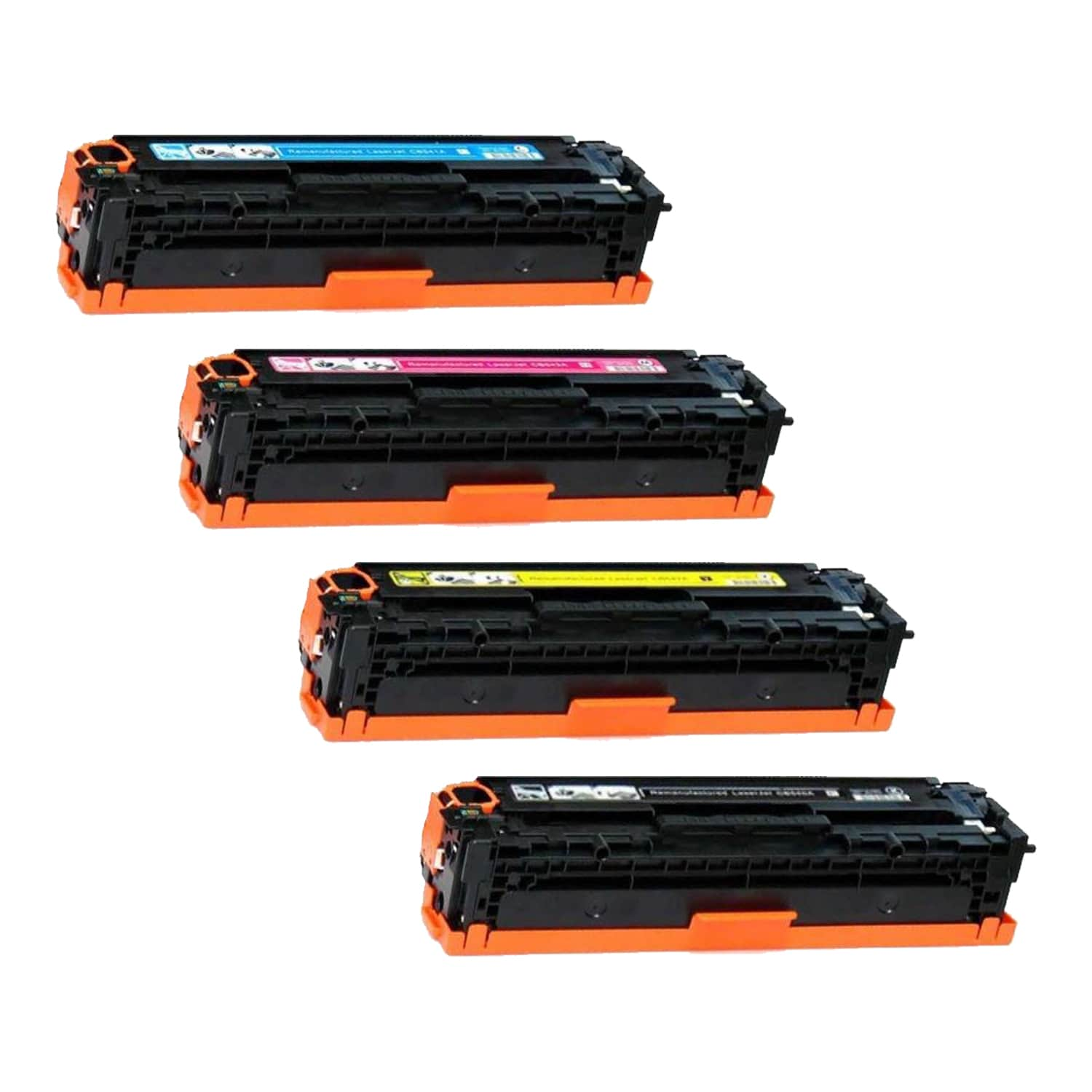 Remanufactured HP 201X Toner High Capacity Pack - 4 Cartridges