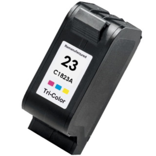 HP 23 Ink Cartridge - HP Remanufactured (Tricolor)