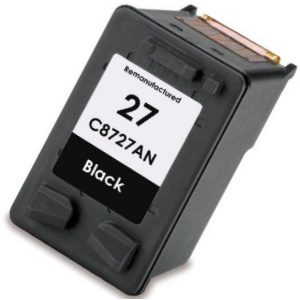 HP 27 Ink Cartridge - HP Remanufactured (Black)