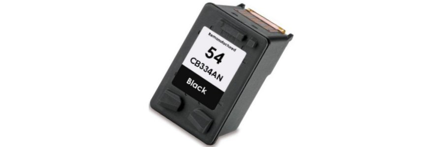 HP 54 Ink Cartridge - HP Remanufactured (Black)