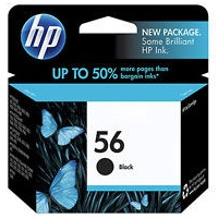HP 56 Ink Cartridge - HP Genuine OEM (Black)
