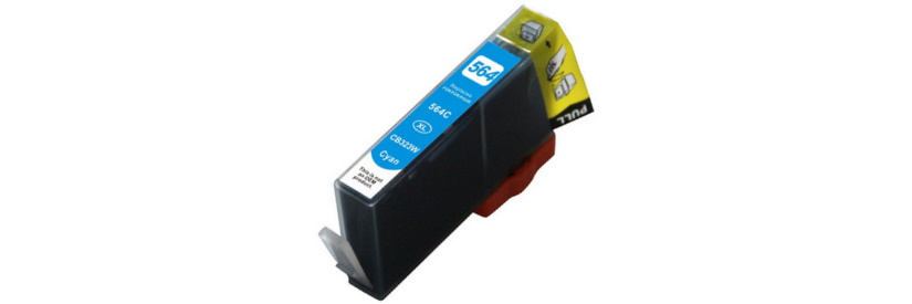 HP 564XL Cyan Ink Cartridge - HP Remanufactured (Cyan)