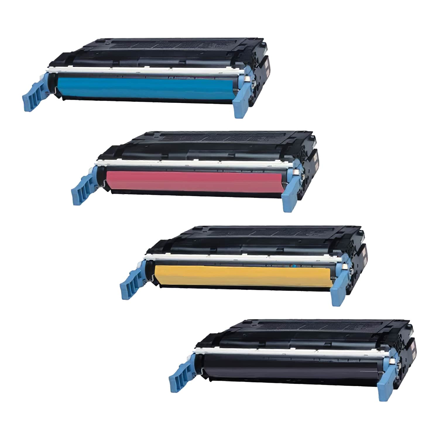 Remanufactured HP Toner Cartridge Bundlpack 643A CMYK Pack - 4 Cartridges