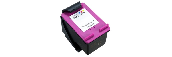 HP 65XL Tricolor Ink Cartridge - HP Remanufactured (Tricolor)