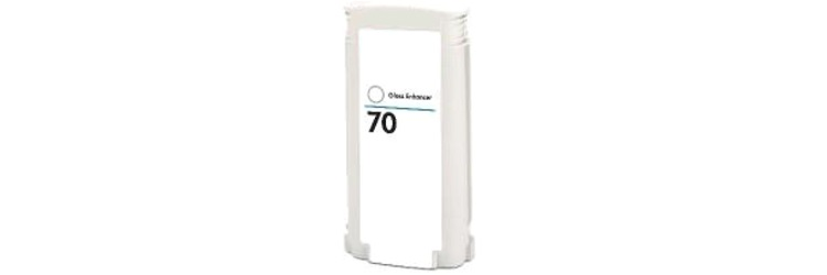 HP 70 Gloss Ink Cartridge - HP Remanufactured (Gloss)
