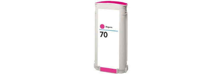 HP 70 Magenta Ink Cartridge - HP Remanufactured (Magenta)
