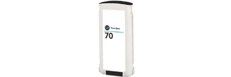 HP 70 Photo Black Ink Cartridge - HP Remanufactured (Photo Black)