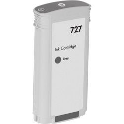 HP 727 Gray Ink Cartridge - HP Compatible (Gray)