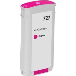 HP 727 Magenta Ink Cartridge - HP Compatible (Magenta)