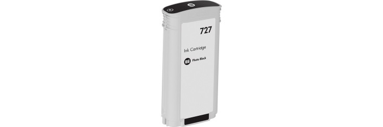 HP 727 Photo Black Ink Cartridge - HP Compatible (Photo Black)