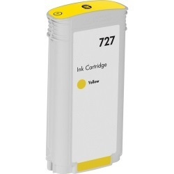 HP 727 Yellow Ink Cartridge - HP Compatible (Yellow)