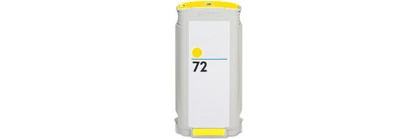 HP 72XL Yellow Ink Cartridge - HP Remanufactured (Yellow)