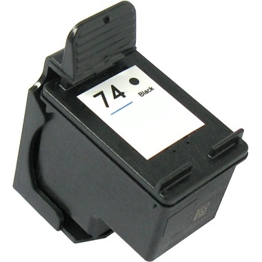 HP 74 Ink Cartridge - HP Remanufactured (Black)