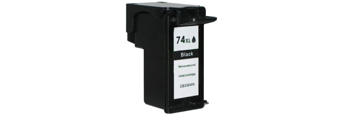 HP 74XL Ink Cartridge - HP Remanufactured (Black)