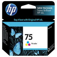 HP 75 Ink Cartridge - HP Genuine OEM (Tricolor)