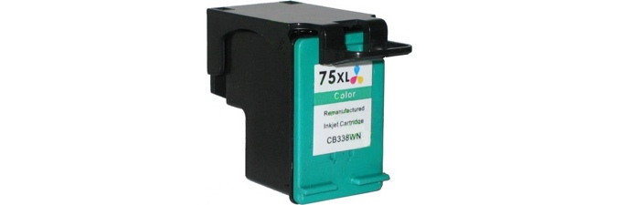 HP 75XL Ink Cartridge - HP Remanufactured (Tricolor)