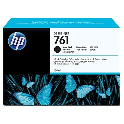HP 761XL Matte Black Ink Cartridge - HP Genuine OEM (Matte Black)