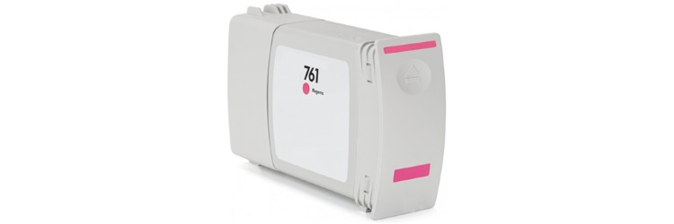 HP 761 Magenta Ink Cartridge - HP Compatible (Magenta)