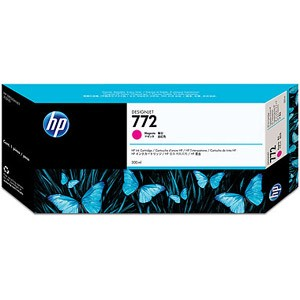 HP 772 Magenta Ink Cartridge - HP Genuine OEM (Magenta)