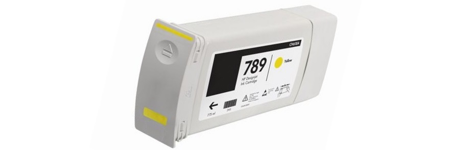 HP 789 Yellow Ink Cartridge - HP Remanufactured (Yellow)