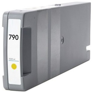 HP 790 Yellow Ink Cartridge - HP Remanufactured (Yellow)