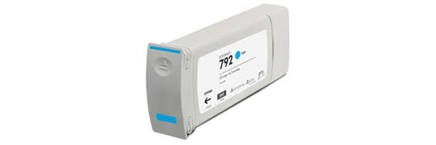 HP 792 Cyan Ink Cartridge - HP Compatible (Cyan)