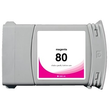 HP 80XL Magenta Ink Cartridge - HP Remanufactured (Magenta)