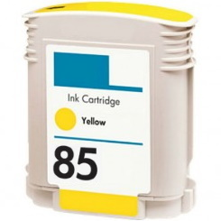 HP 85 Yellow Ink Cartridge - HP Remanufactured (Yellow)