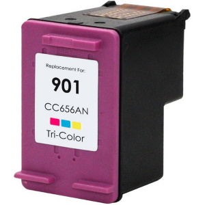 HP 901 Tricolor Ink Cartridge - HP Remanufactured (Tricolor)