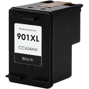 HP 901XL Black Ink Cartridge - HP Remanufactured (Black)