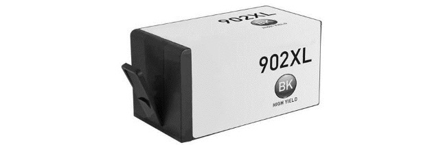 HP 902XL Black Ink Cartridge - HP Remanufactured (Black)