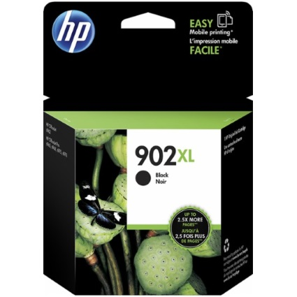 HP 902XL Black Ink Cartridge - HP Genuine OEM (Black)
