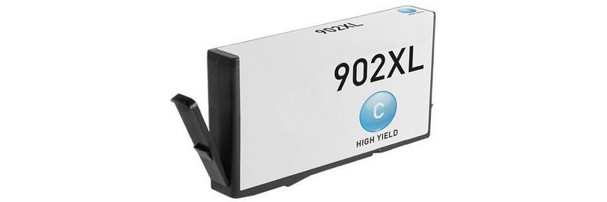 HP 902XL Cyan Ink Cartridge - HP Remanufactured (Cyan)