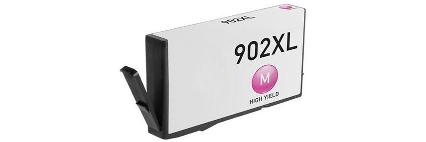 HP 902XL Magenta Ink Cartridge - HP Remanufactured (Magenta)