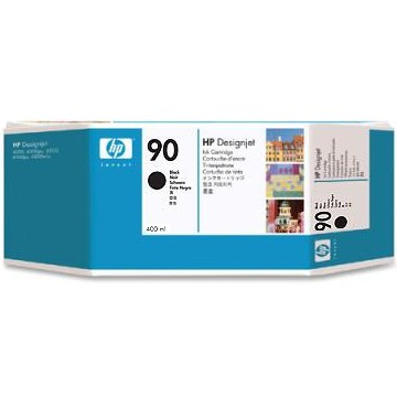 HP 90 Black Ink Cartridge - HP Genuine OEM (Black)