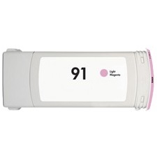 HP 91 Light Magenta Ink Cartridge - HP Remanufactured (Light Magenta)