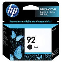 HP 92 Ink Cartridge - HP Genuine OEM (Black)