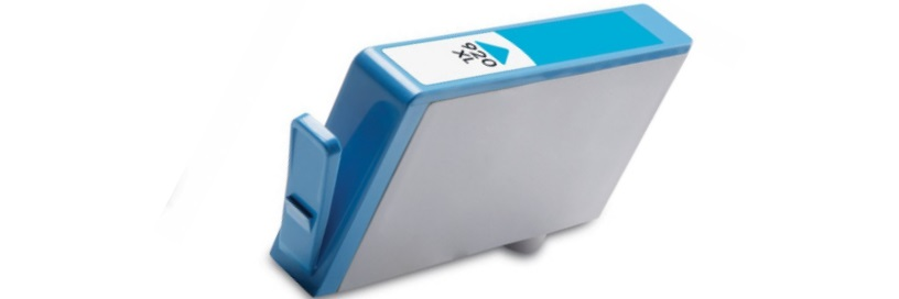 HP 920XL Cyan Ink Cartridge - HP Remanufactured (Cyan)