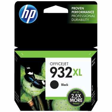 HP 932XL Black Ink Cartridge - HP Genuine OEM (Black)