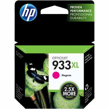 HP 933XL Magenta Ink Cartridge - HP Genuine OEM (Magenta)