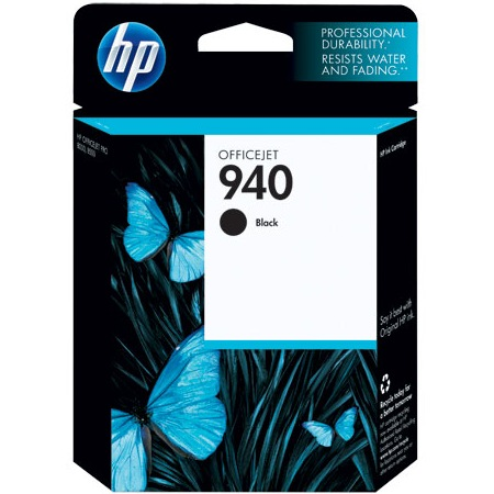 HP 940 Black Ink Cartridge - HP Genuine OEM (Black)