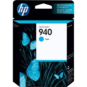 HP 940 Cyan Ink Cartridge - HP Genuine OEM (Cyan)