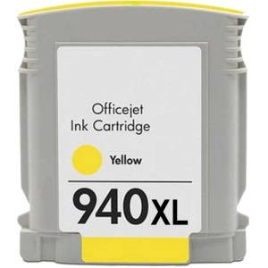 HP 940XL Yellow Ink Cartridge - HP Remanufactured (Yellow)