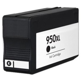 HP 950XL Black Ink Cartridge - HP Remanufactured (Black)