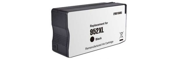 HP 952XL Black Ink Cartridge - HP Remanufactured (Black)