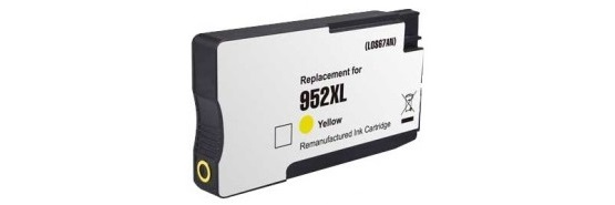 HP 952XL Yellow Ink Cartridge - HP Remanufactured (Yellow)