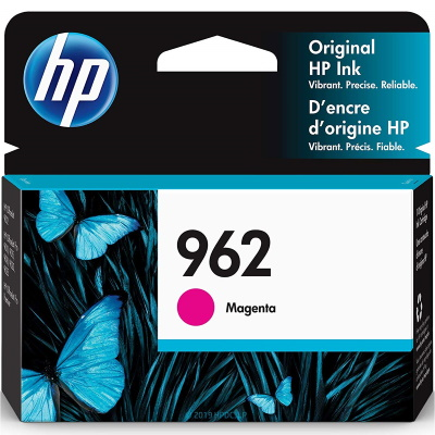 HP 962 Magenta Ink Cartridge - HP Genuine OEM (Magenta)