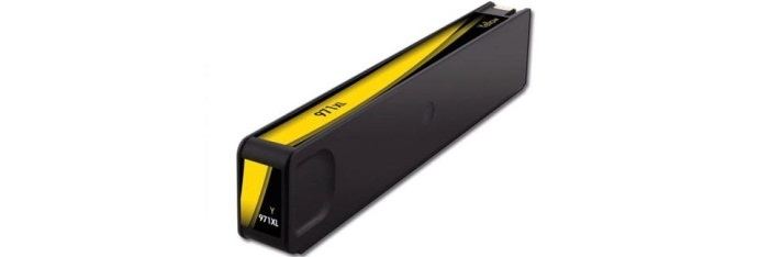 HP 971XL Yellow Ink Cartridge - HP Remanufactured (Yellow)
