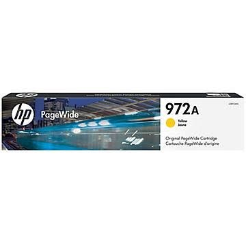 HP 972 Yellow Ink Cartridge - HP Genuine OEM (Yellow)