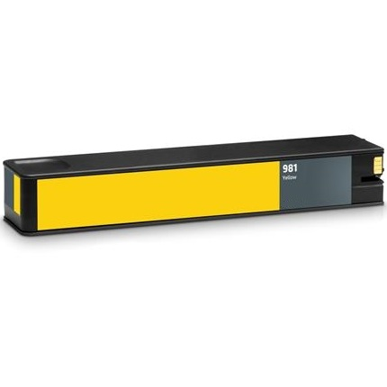HP 981 Yellow Ink Cartridge - HP Remanufactured (Yellow)